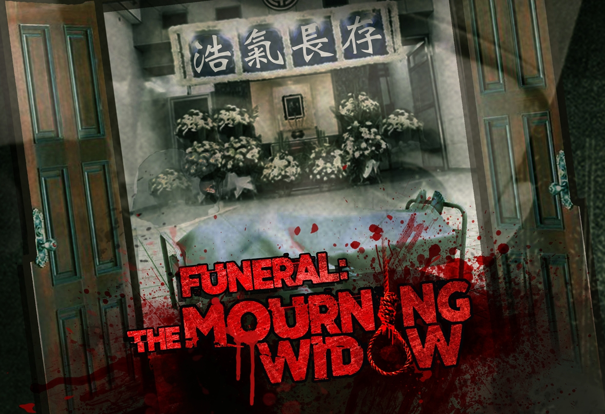 Escape Game Funeral: The Mourning Widow, Freeing Group. Singapore.