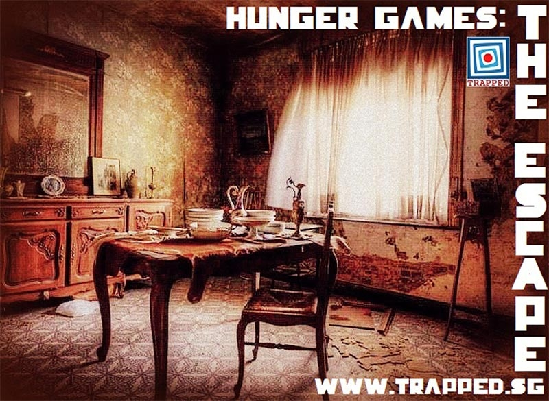 Escape Game Hunger Games - The Escape, Trapped Singapore. Singapore.