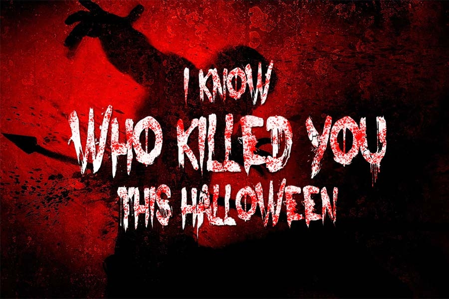 Escape Game I Know Who Killed You Last Halloween, ThinkOut Events. Singapore.