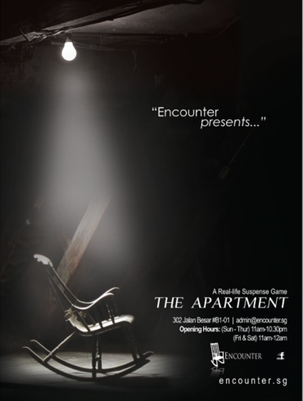 Escape Game The Apartment, Encounter. Singapore.