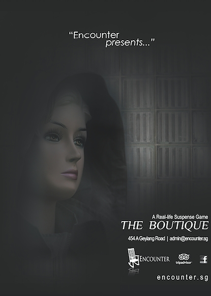 Escape Game The Boutique, Encounter. Singapore.