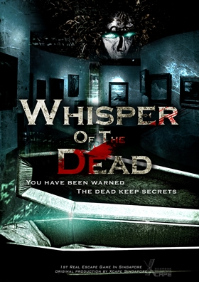Escape Game Whisper of The Dead, Xcape Singapore. Singapore.